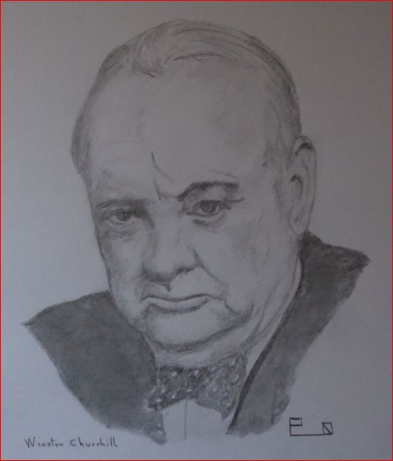 Winston Churchill par Picapenko